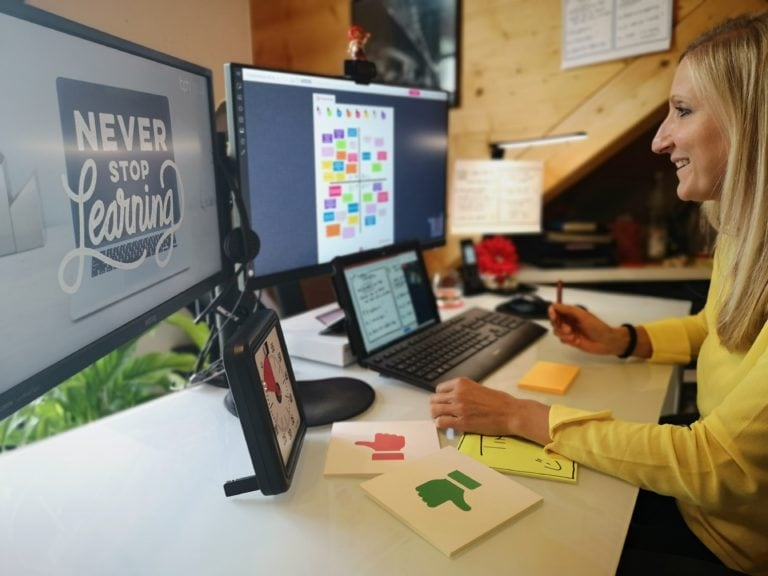 Virtuelles Peer Coaching