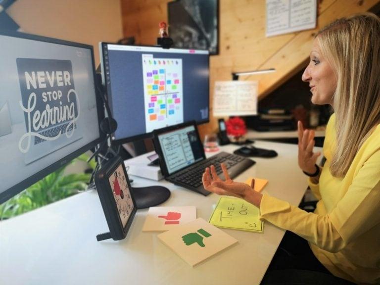"""Virtuelle Teamentwicklung - das """"Remote Work"""" Team Canvas"""
